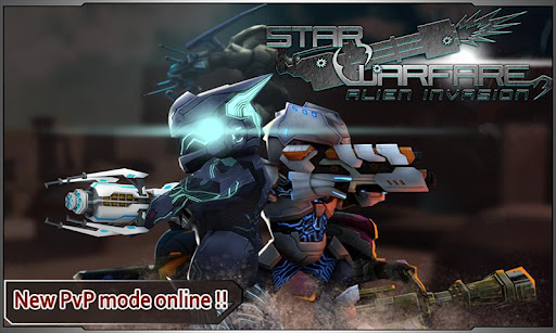"Игра ""Star Warfare: Alien Invasion"" на Андроид"