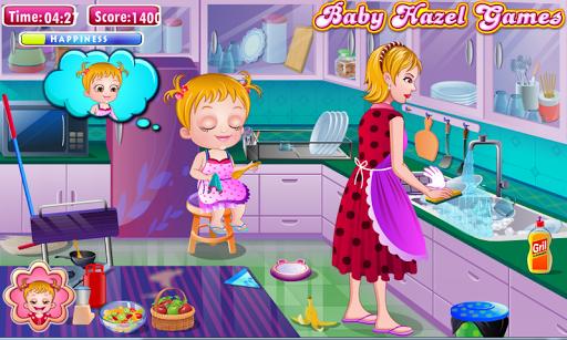 Игра Baby Hazel Cleaning Time на Андроид