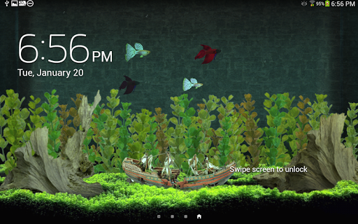 My Aquarium Live Wallpaper для планшетов на Android