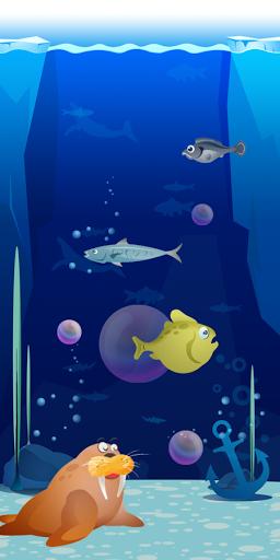 Морские пузырьки для планшетов на Android