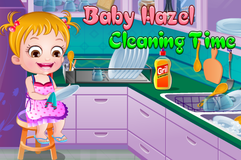 Игра Baby Hazel Cleaning Time для планшетов на Android