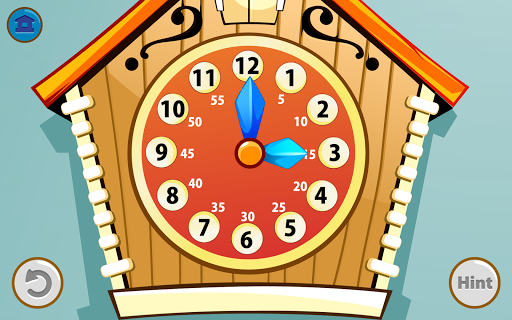 Kids Telling Time для планшетов на Android