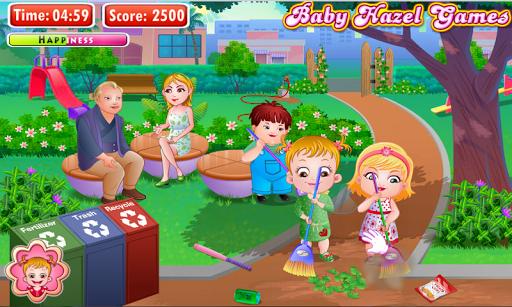 Игра Baby Hazel Earth Day на Андроид