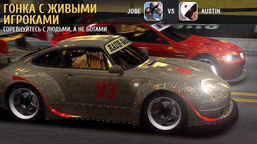 Игра Racing Rivals для планшетов на Android