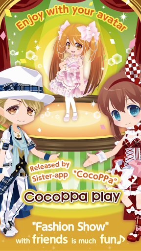 Star Girl Fashion: CocoPPa Play для планшетов на Android