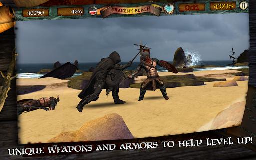 Игра Infinite Warrior для планшетов на Android