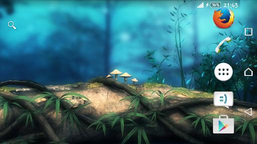 Theme eXPERIAnz Fantasy Forest на Андроид