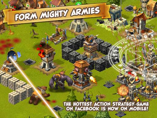 Игра War of Mercenaries для планшетов на Android