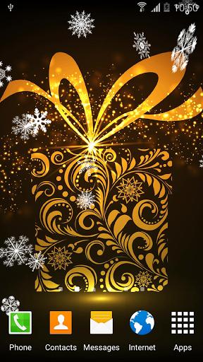 Абстрактные Новогодние Обои скачать на Андроид