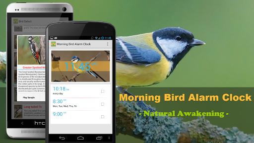 "Будильник ""Morning Bird Alarm Clock"" на Андроид"