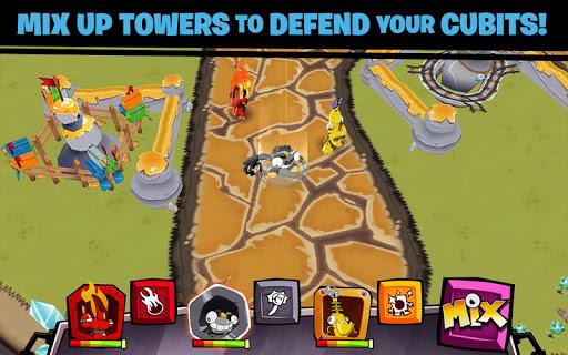 Игра Миксели вперед для планшетов на Android