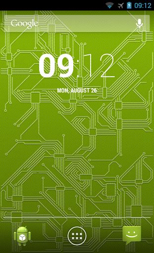 Живые обои Circuitry для планшетов на Android