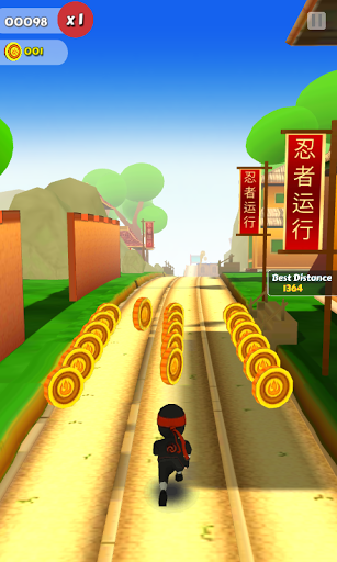 Ninja Runner 3D для планшетов на Android