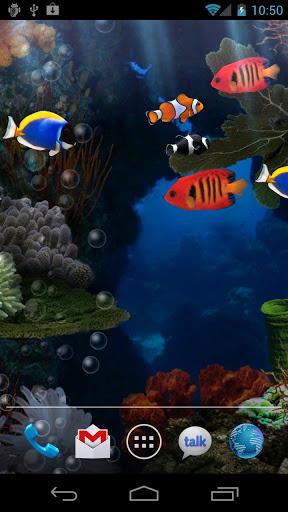 "Живые обои ""Aquarium Live Wallpaper"" на Андроид"
