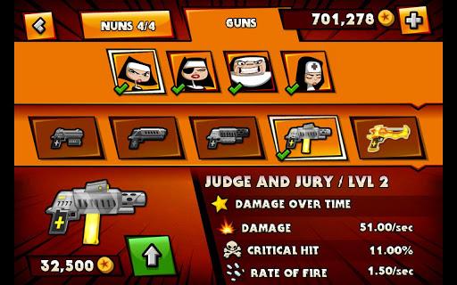 "Игра ""Nun Attack"" для планшетов на Android"