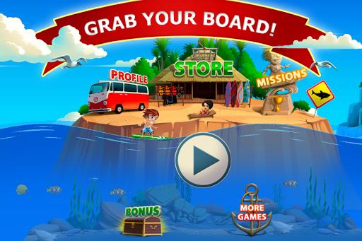 Игра Banzai Surfer на Андроид