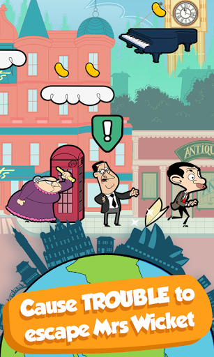 Mr Bean - Around the World скачать на планшет Андроид