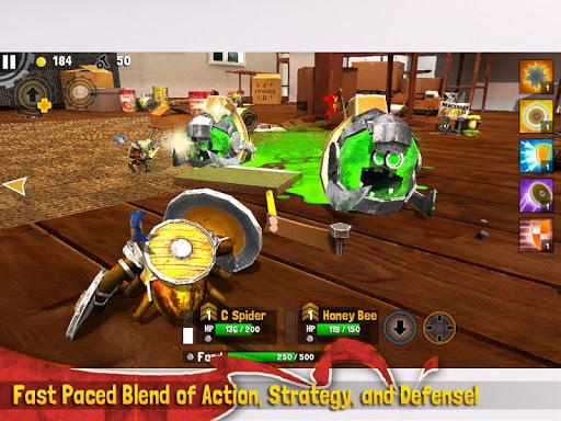 Игра Bug Heroes 2 для планшетов на Android