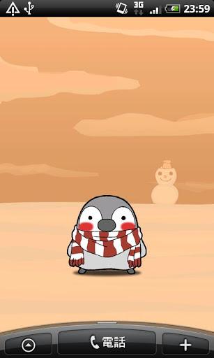 "Живые обои ""Winter Penguin Free Live Wallpaper"" на Андроид"
