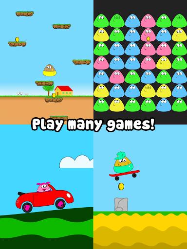 Игра Pou для планшетов на Android