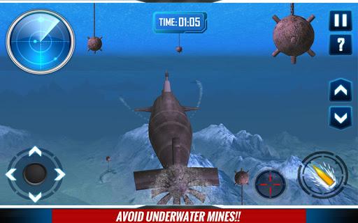 Submarine - война 3D для планшетов на Android