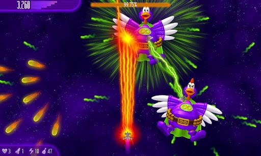 "Игра ""Chicken Invaders 4"" для планшетов на Android"