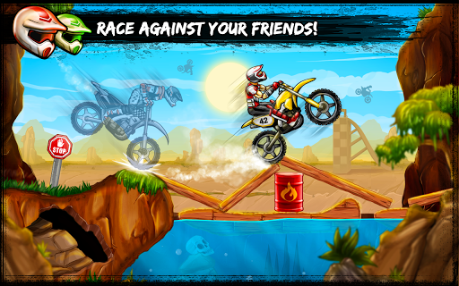 Bike Rivals на Андроид