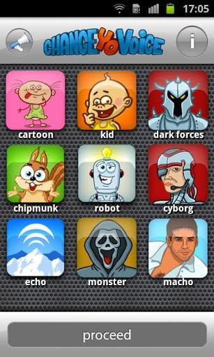 Приложение Change Yo! Voice для планшетов на Android