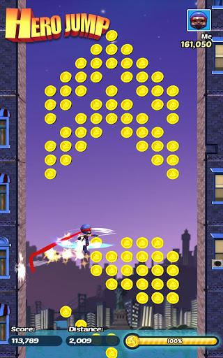 Hero Jump для планшетов на Android
