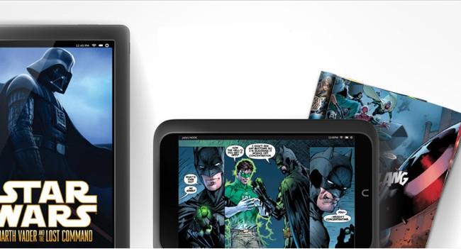 Как на планшетах читать комиксы?
