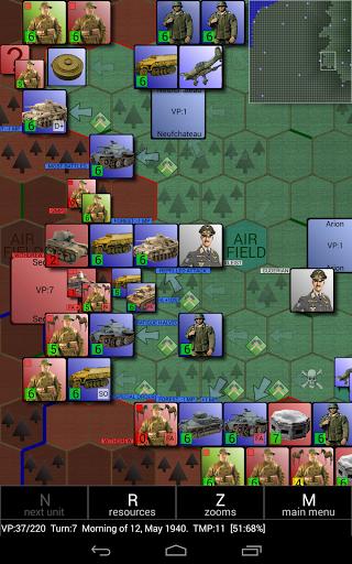 Игра Invasion of France 1940 на Андроид