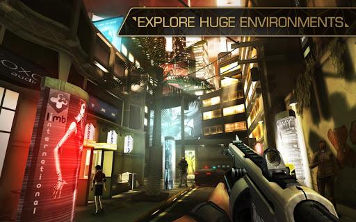 Игра Deus Ex: The Fall для планшетов на Android