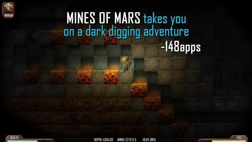 Игра Mines of Mars для планшетов на Android