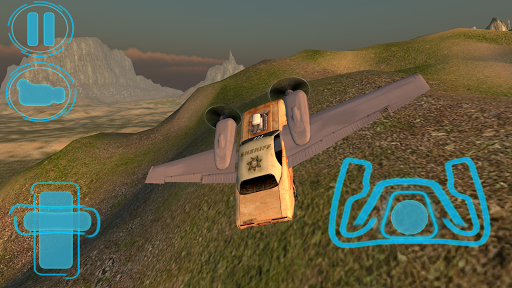 Flying Car Free: Sheriff Craft для планшетов на Android