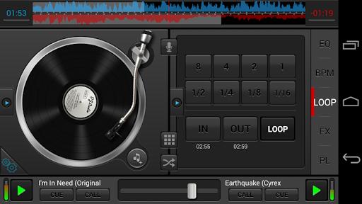 Диджейская программа DJ Studio для планшетов на Android