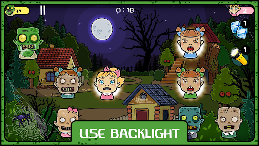 Zombie and Little Girls скачать на планшет Андроид