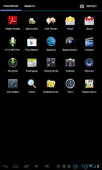 Обзор планшета Explay Informer 701 на Андроид