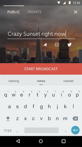 Periscope скачать на планшет Андроид