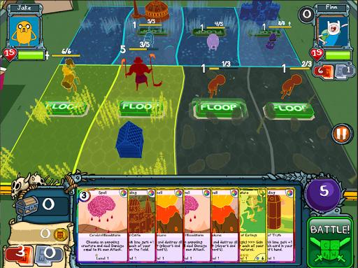 Игра Card Wars - Adventure Time для планшетов на Android