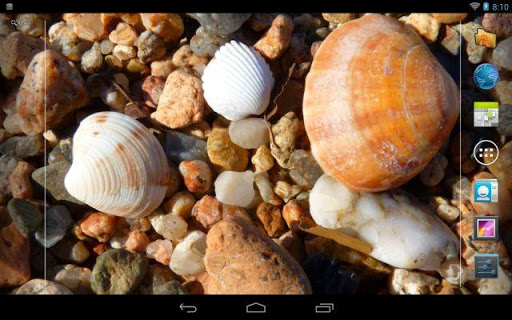 "Живые обои ""Beach Water S3 Live Wallpaper"" для планшетов на Android"