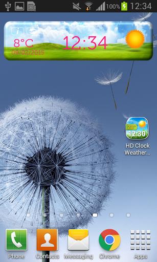 Сборник HD-виджетов погоды скачать на планшет Андроид