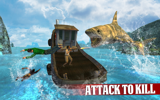 Angry Shark Revenge 3D для планшетов на Android