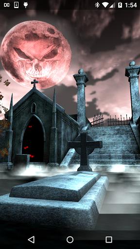 Halloween Graveyard 3D скачать на планшет Андроид