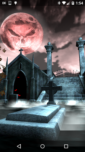 Halloween Graveyard 3D скачать на Андроид