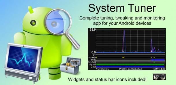 Система мониторинга System Tuner Pro на Андроид
