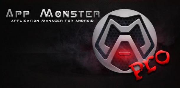 Менеджер приложений AppMonster Pro для планшетов на Андроид