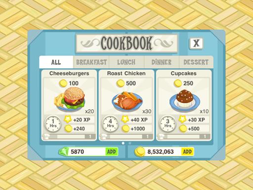 История ресторана. Жаркое лето для планшетов на Android