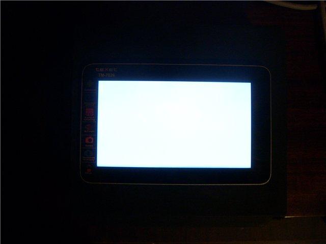 Что делать если белый экран на планшете