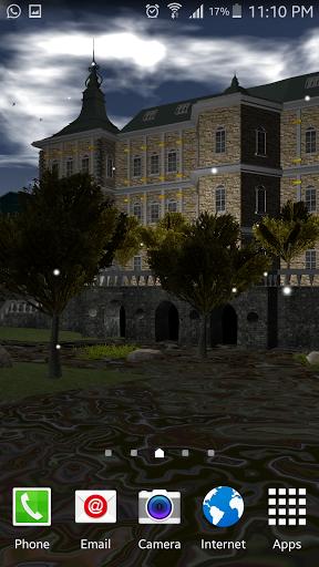 Beautiful Chateau 3d Lwp скачать на Андроид