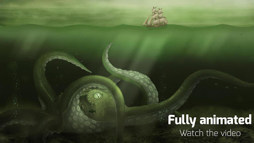 Kraken Live Wallpaper на Андроид